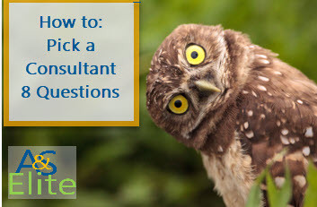 How to Pick a Consultant - 8 Questions