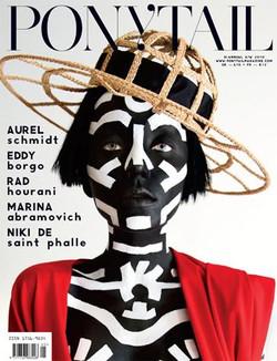Ponytail Magazine cover - ph. Jeffrey Graetsch