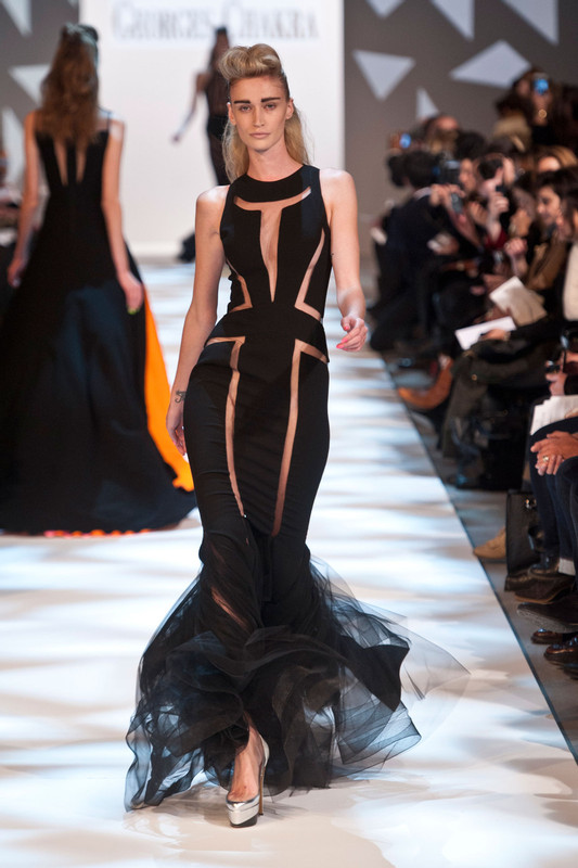 Georges Chakra Couture SS13 (2)_PFW