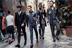 Dolce & Gabbana ads.