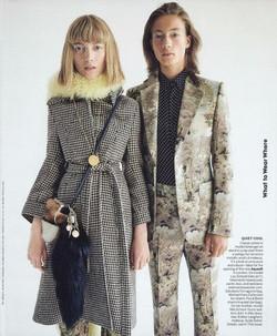 Vogue US - Sept.17 ph. Patrick Demarchelier