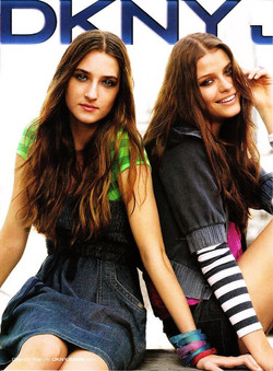 DKNY Jeans ads campaign