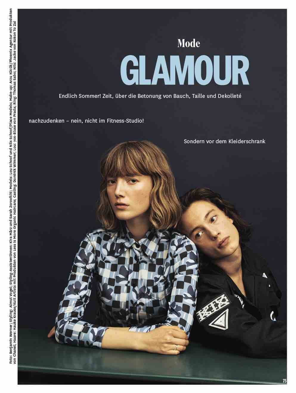 Glamour Germany - June.17 (Mode Aufm)