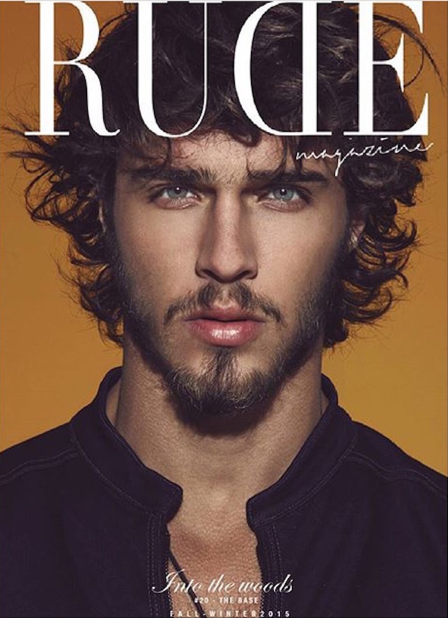 Rude Magazine cover