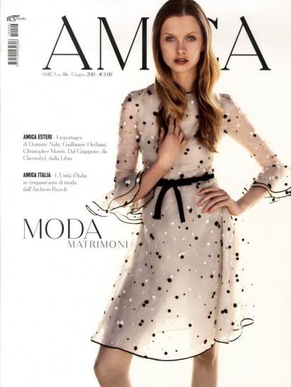 Amica Magazine cover