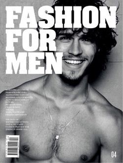 Fashion For Man Mag #4 cover