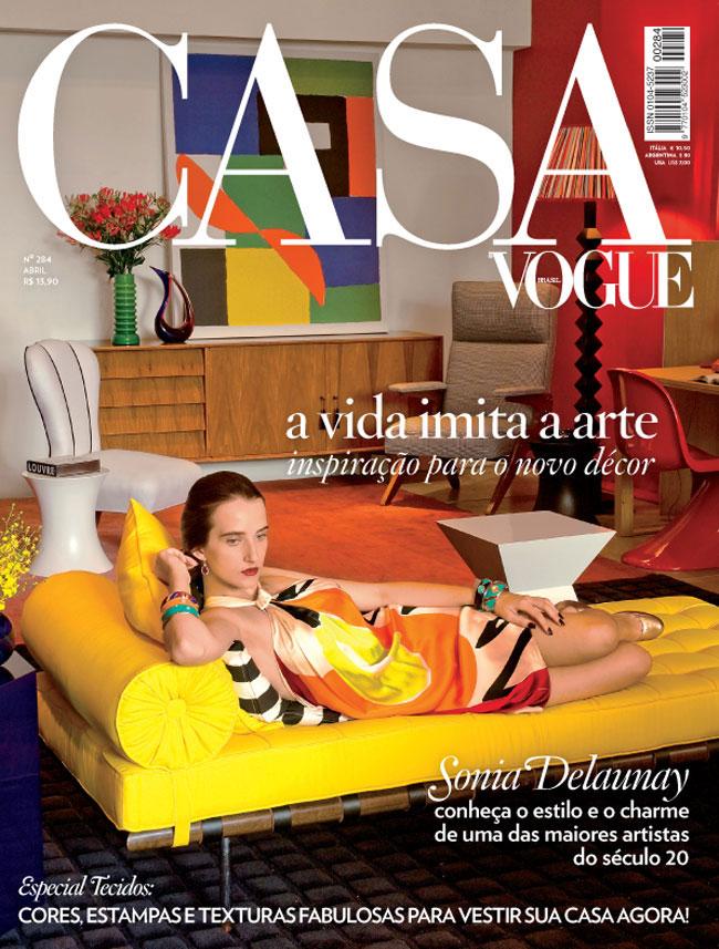 Caroline Demarqui (21) Vogue Casa Brasil