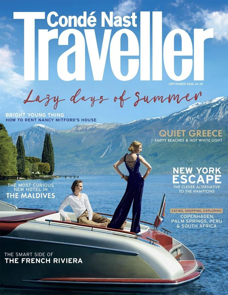 Conde Nast Traveller UK (cover)