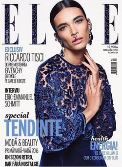 Elle Romania February 2016 cover