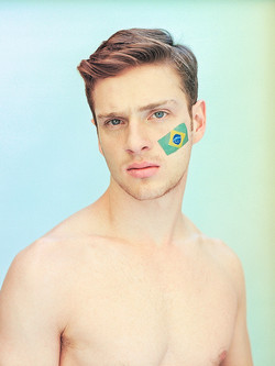 Male Model World Cup Tribute - ph. Paolo Simi