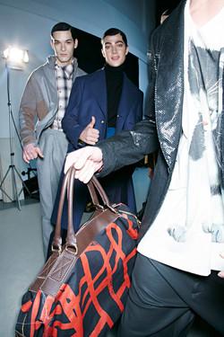 Vivienne Westwood FW 14.15 Milan (backstage)