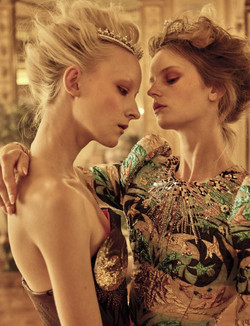 Vogue Italy Sept.16 ph. Michel Comte