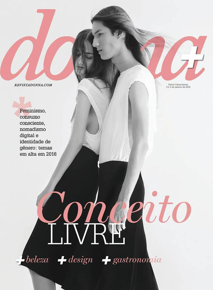 Donna Magazine cover Jan.16