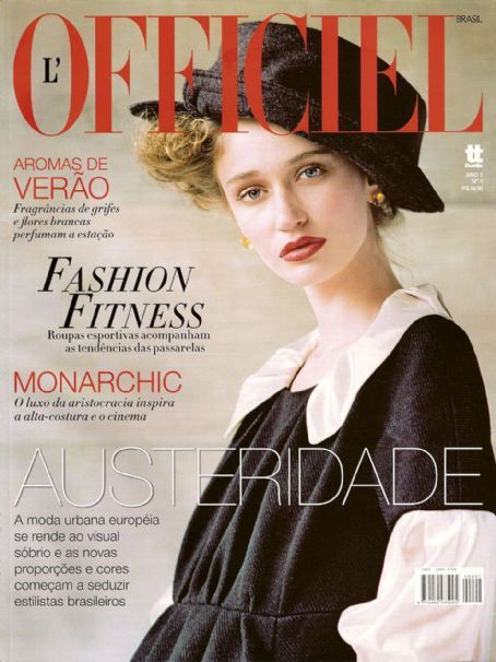 L'Officiel Brasil - 1st issue (cover)