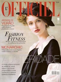 L'Officiel Brasil - 1st issue (cover)