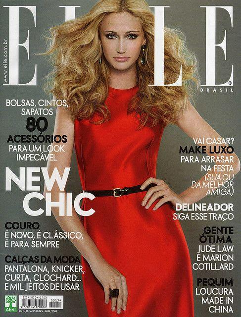 Viviane Orth for Elle Brasil (cover)
