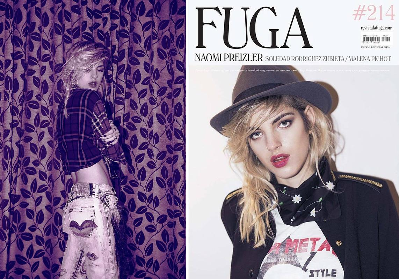 Fuga Magazine (cover+editorial)