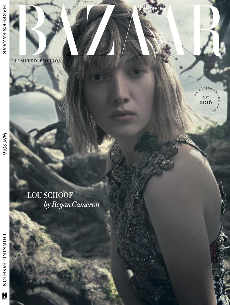 Lou Schoof for Harper's Bazaar UK May 20