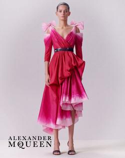 Wanessa Milhomem for Alexander McQueen P