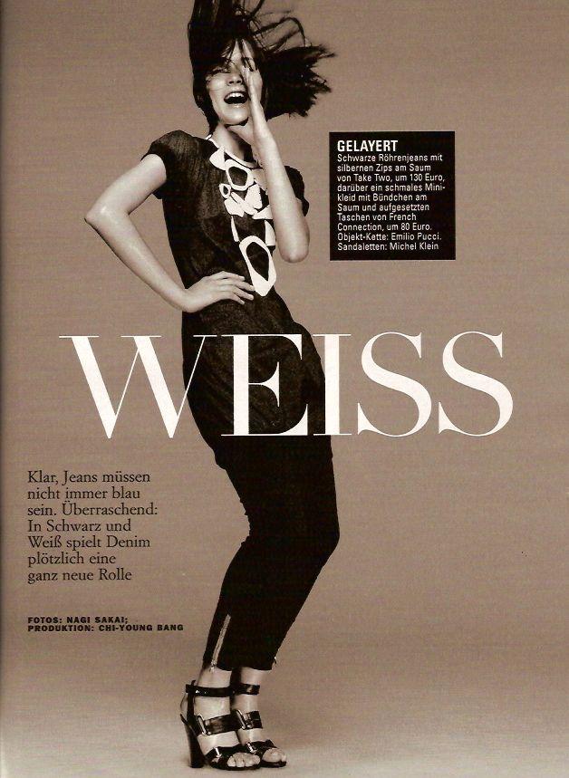 Glamour Germany - March 2007 - ph. Nagi Sakai