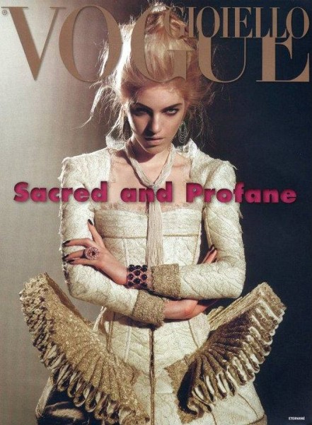 Vogue Jewlery Italy Cover