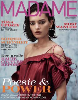 Madame Magazine Germany Cover