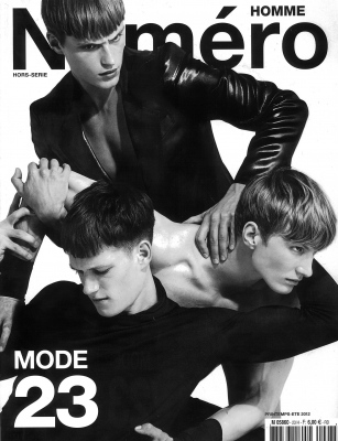 Numero Homme cover ph. Matthew Brookes