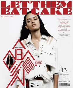 Let Them Eat Cake Magazine FW 09 Cover