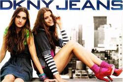 DKNY Jeans ads
