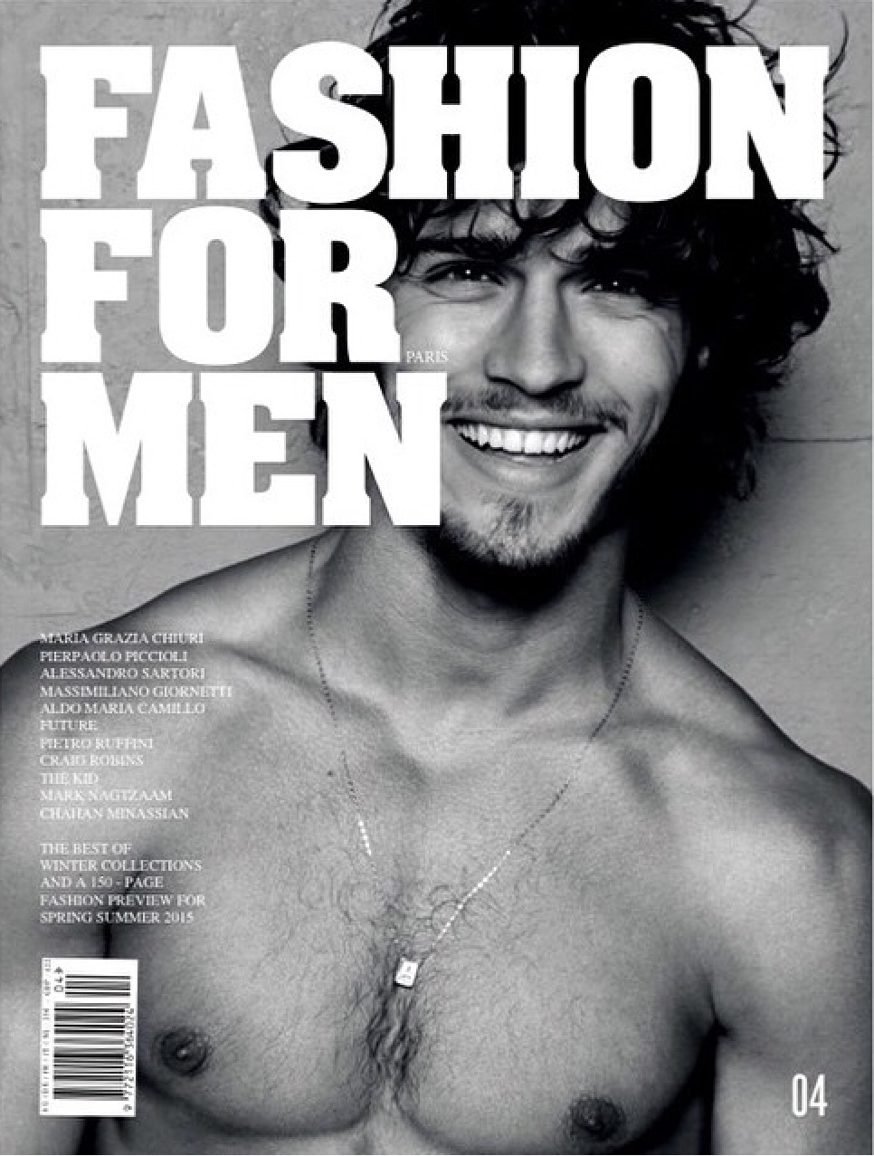 Lucas Medeiros | Fashion For Men Mag. #4 ph. Milan Vukmirovic