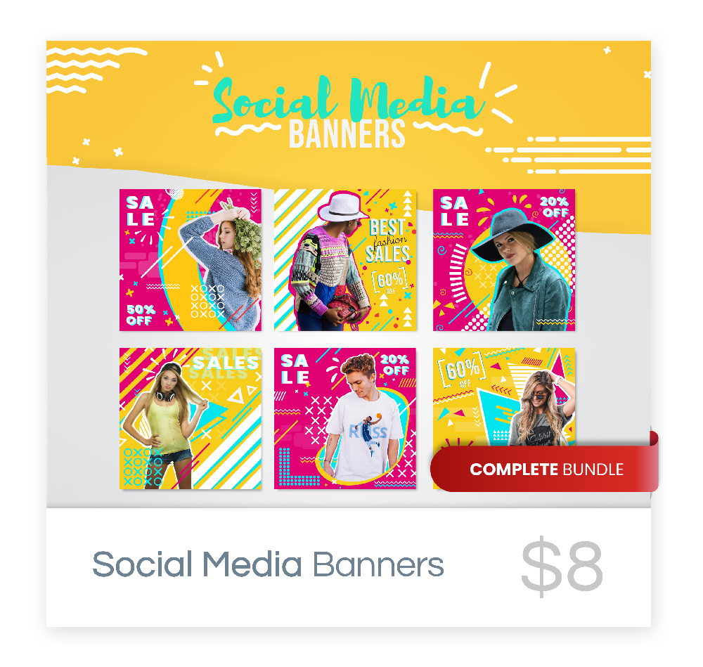 Social Media Banner Collection