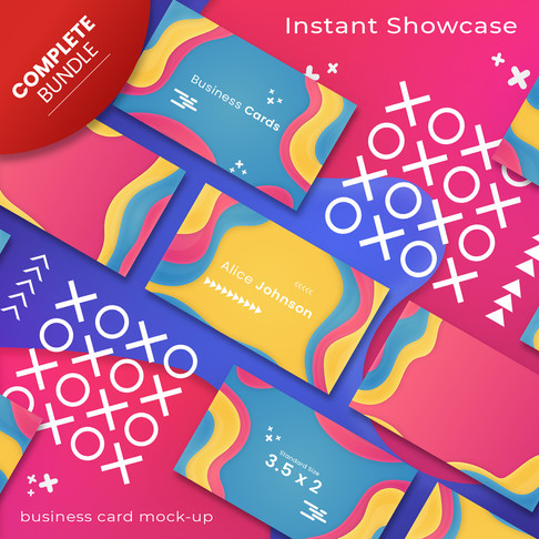 Colorful Abstract Branding Collection