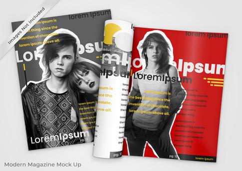 Simple Magazines Mockup