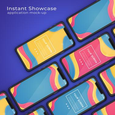 Colorful iPhone 11 Mockup