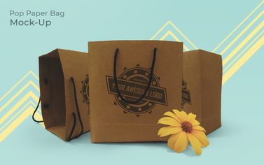 Paper Bag Mock-Up Pop 2