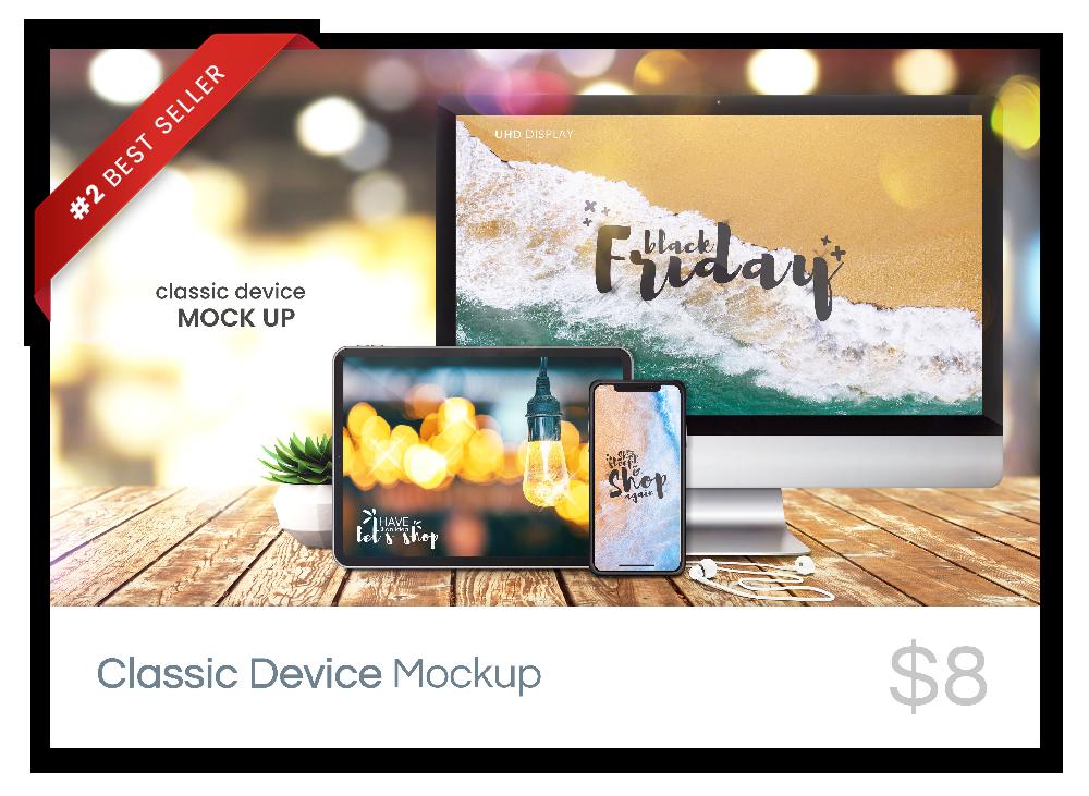 Classic Device Mockup