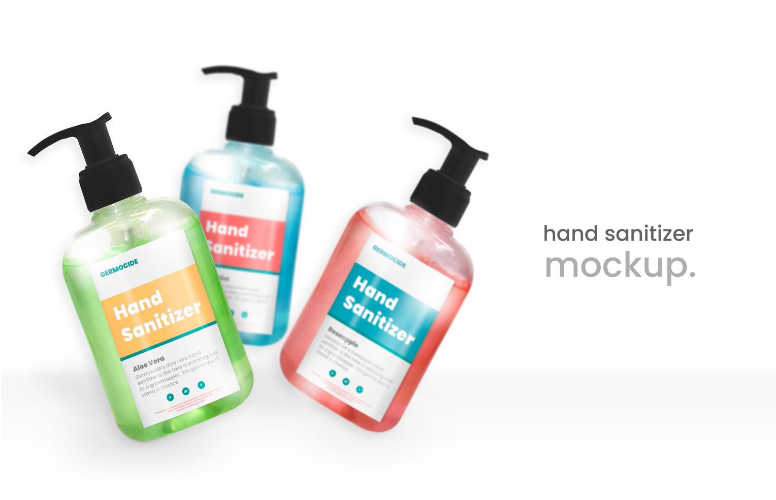 Germocidal Manica Hand Sanitizer Brandin