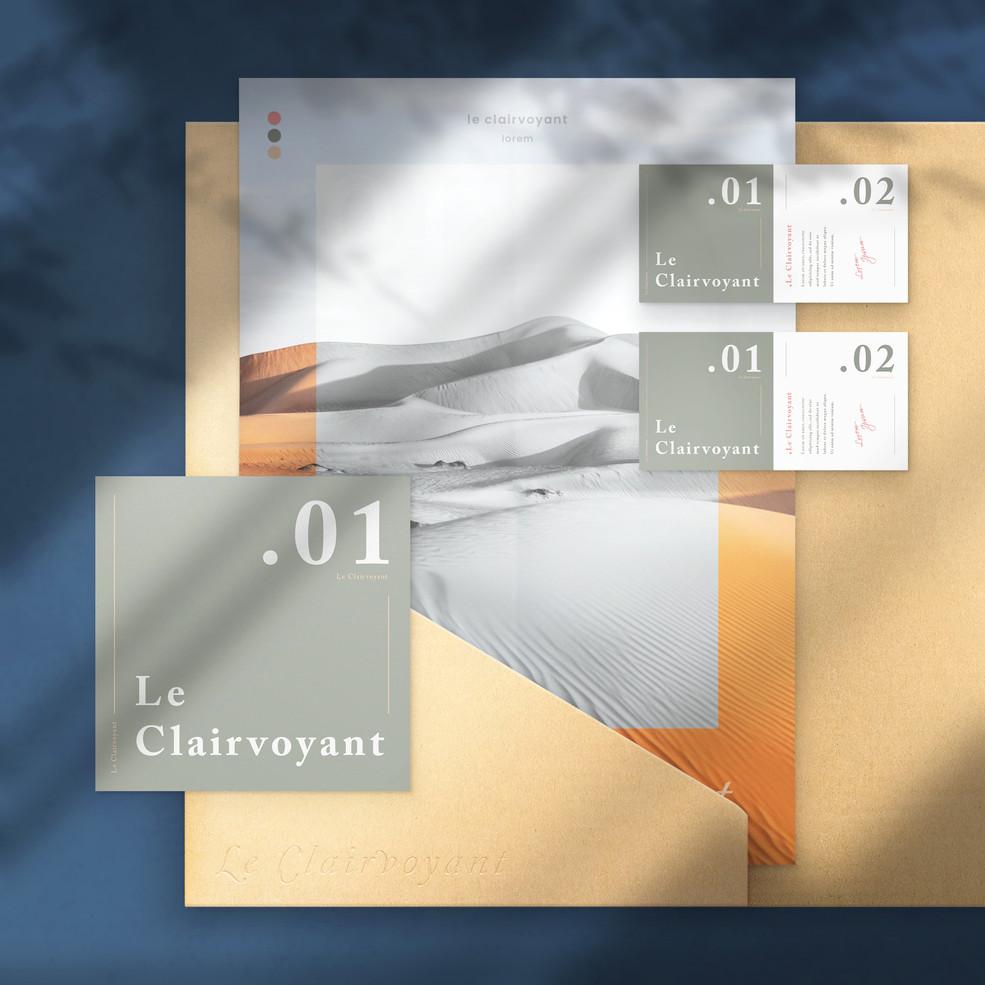 Le Clairvoyant Branding 5