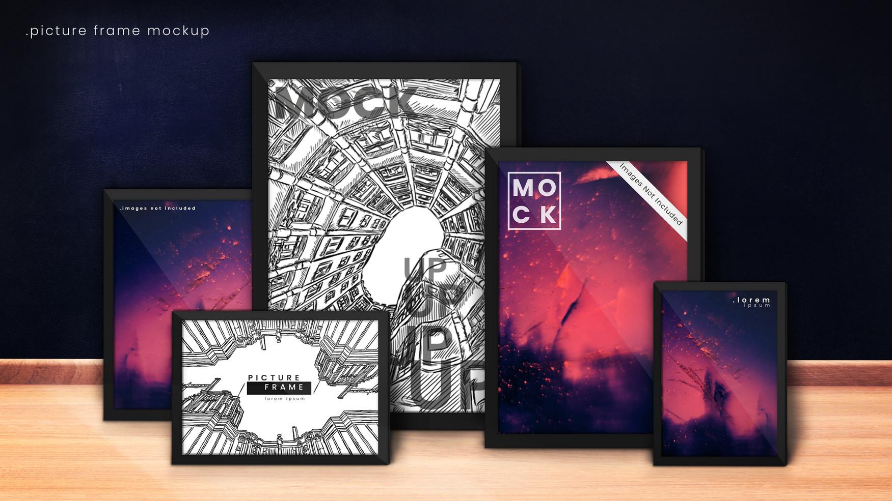 Dark Blue Picture Frame Mockup FP.jpg