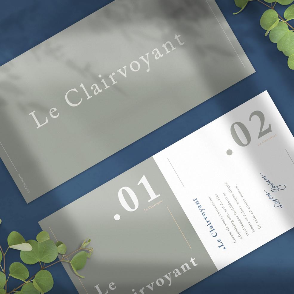 Le Clairvoyant Branding 8