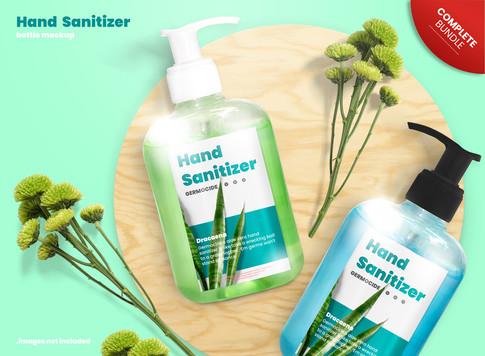 Hand Sanitizer Branding Set