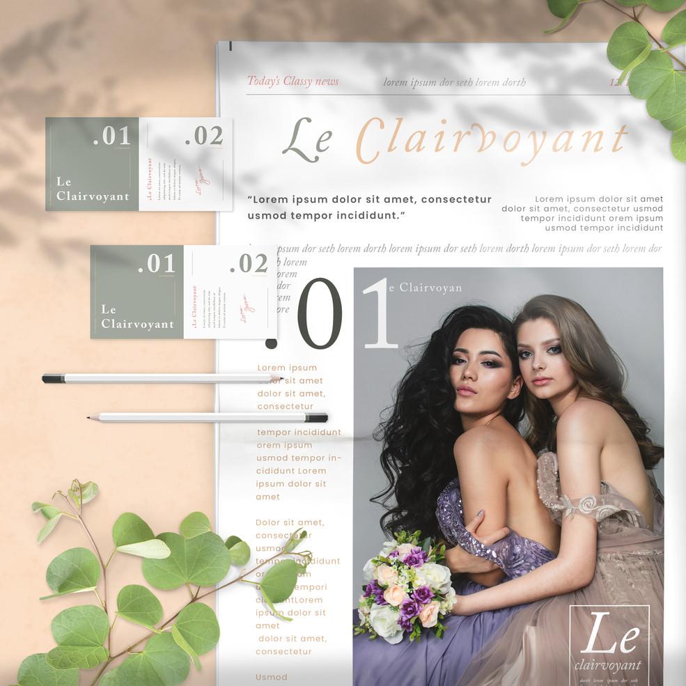 Le Clairvoyant Branding 1