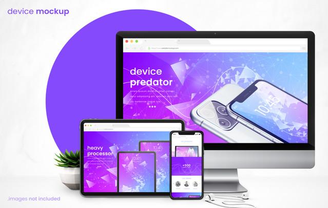Modern Device Mockup