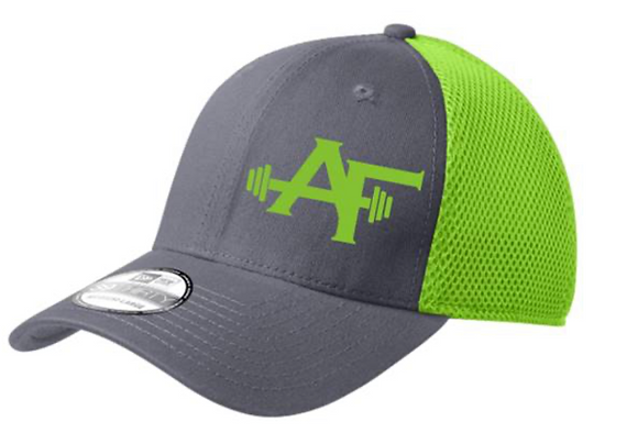 AF Hat (Grey/Lime Green)