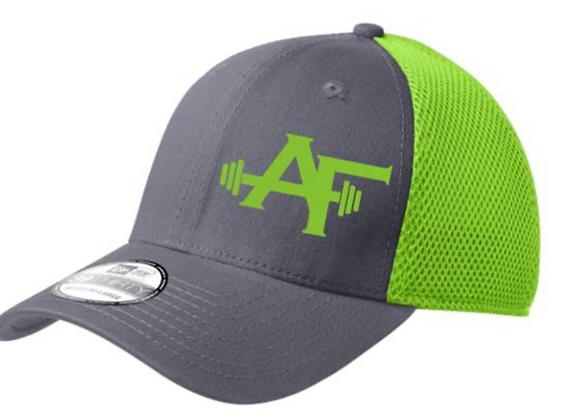 AF Hat (Grey/Lime Green)