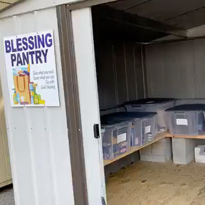 Blessing Pantry is open for business