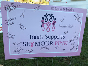 Seymour Pink race day