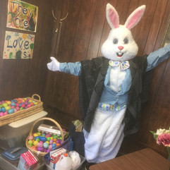 The Easter Bunny is here!
