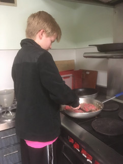 Cooking for Spooner House