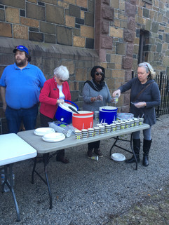 Serving at Chapel on the Green, New Haven